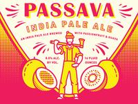 Passava IPA - Reuben's Brews + Great Notion
