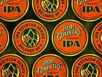Bale Breaker - Hop Country IPA - Coaster