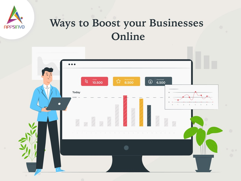 Appsinvo - Ways to Boost your Businesses Online appsinvo