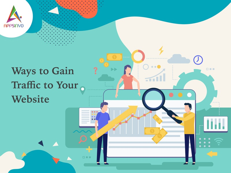 Appsinvo - Ways to Gain Traffic to Your Website