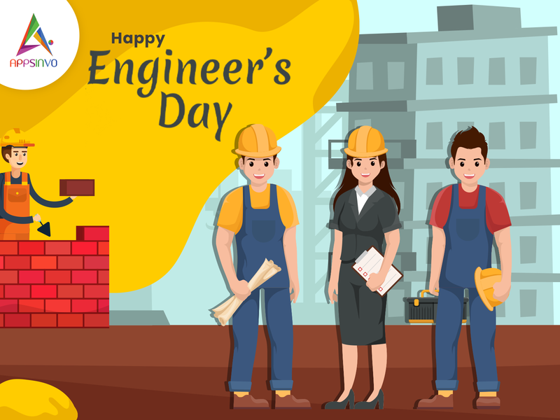 Appsinvo Wishes for Happy Engineers Day