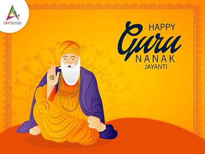 Appsinvo Wishes for Happy Guru Nanak Jayanti