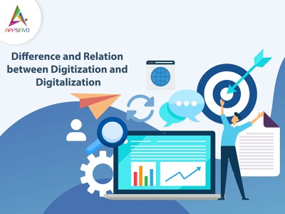 Appsinvo - Difference and Relation between Digitization and Digi
