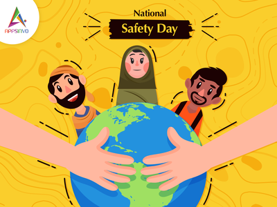 Appsinvo Wishes for National Safety Day