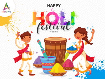 Happy Holi from Appsinvo Team happy holi from appsinvo team happy holi from appsinvo team