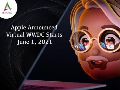 Appsinvo - Apple Announces Virtual WWDC Starts June 7, 2021 2021