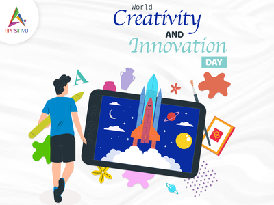 Appsinvo Wishes For Happy World Creativity and Innovation Day