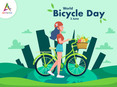 Happy World Bicycle Day happy world bicycle day happy world bicycle day