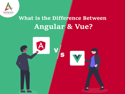 Appsinvo | What is the Difference Between Angular & Vue? 3d motion graphics branding animation