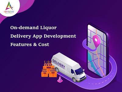 Appsinvo - On-demand Liquor Delivery App Development Features logo branding motion graphics graphic design animation