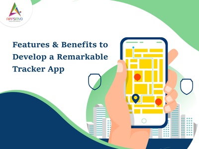 Appsinvo : Features & Benefits to Develop a Remarkable Tracker A ui 3d graphic design motion graphics branding animation