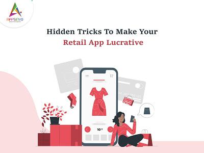 Appsinvo :: Hidden Tricks To Make Your Retail App Lucrative ui 3d branding logo animation