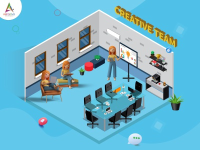 Virtual Classroom concept innovativemobileapps iphone android appsinvo mobileapps motion graphics graphic design 3d animation ui