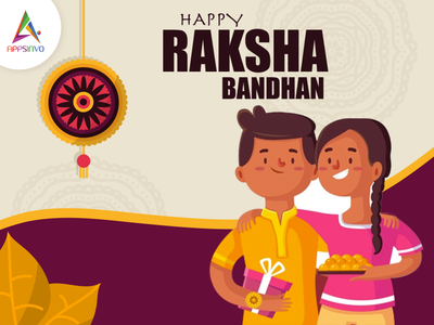 Wish you a very happy Rakshabandhan!! logo branding motion graphics graphic design animation