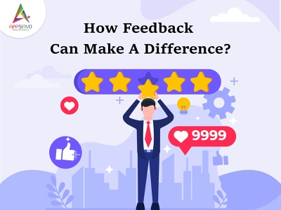 Appsinvo || 2How Feedback Can Make A Difference? motion graphics 3d animation