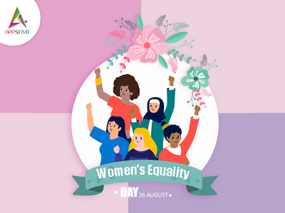 Happy Women Equality day!! logo graphic design branding motion graphics animation