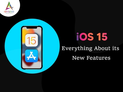 Appsinvo || iOS 15: Everything About its New Features ui branding 3d motion graphics animation