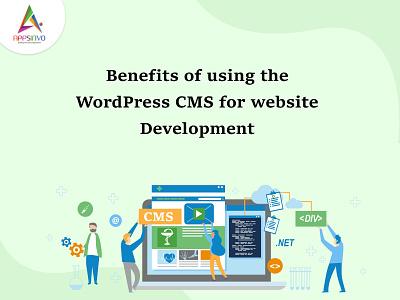Appsinvo :: Benefits of using the WordPress CMS for website deve 3d logo branding motion graphics animation