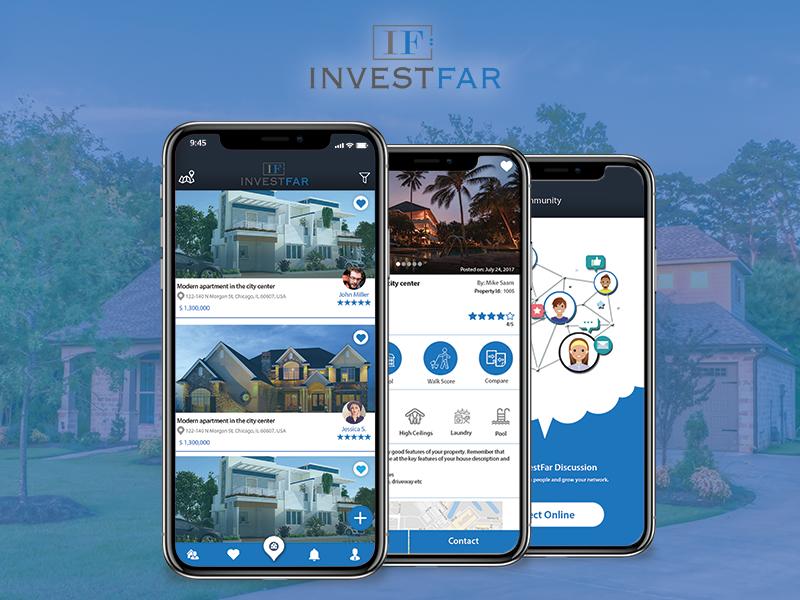 Investfar Real Estate Mobile App By Appsinvo Dribbble Dribbble