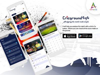 Cricgroundinfo App by Appsinvo
