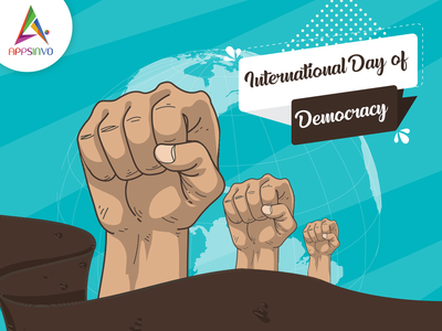 Appsinvo :  international day of democracy