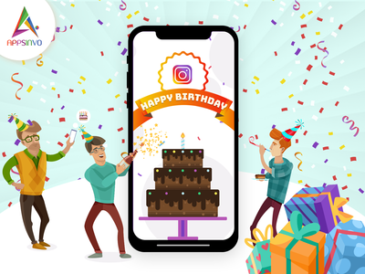 Happy Birthday Instagram in 2019 by Appsinvo