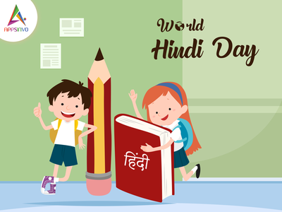 Appsinvo Wishes for World Hindi Day