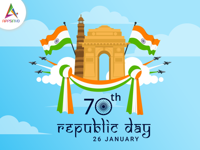 Appsinvo Wishes for Happy 71st Republic Day