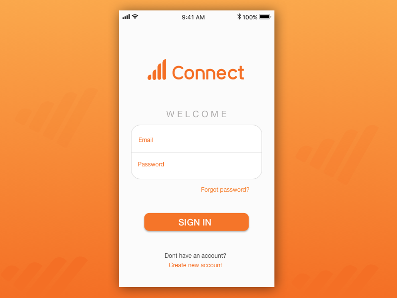 Sign Up Screen dailyui001