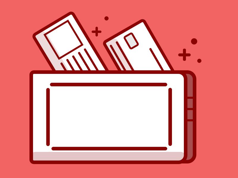 Wallet designchallenge dailyillustration