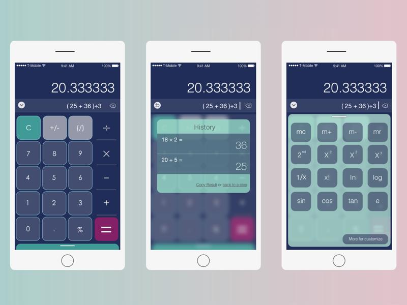 UI Challenge _Calculator calculator uichallenge sanjose ux ui