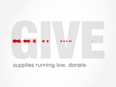 Blood Donation Ad Concept
