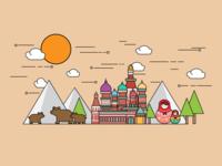 Wonder Plates - Russia