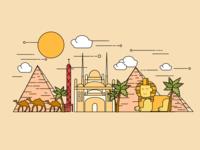 Wonder Plates - Egypt
