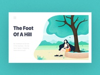 The Foot  Of A Hill