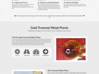 Single Page App-ish Homepage - WIP