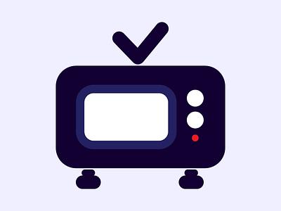 Icon web minimal flat app eye catching vector design ui icon illustration
