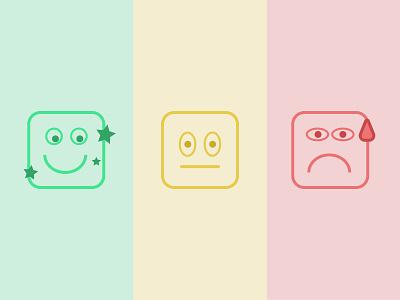 Emoji Icons flat icon ui app vector eye catching design illustration