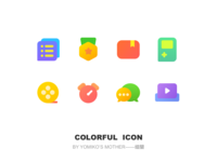 Colorful Icon