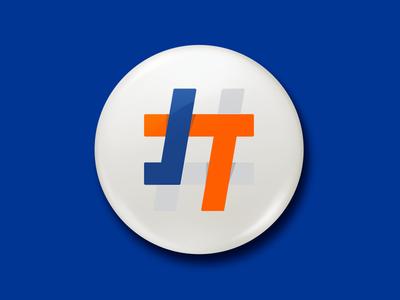 Josh Thompson 4 Mayor graphicdesign new york hashtag logo banding onward washington campaign identity