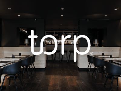 Torp Floors exclusive wood web typography design nordic branding identity