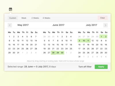Date picker date picker select dashboard pick date web interface design ui ux