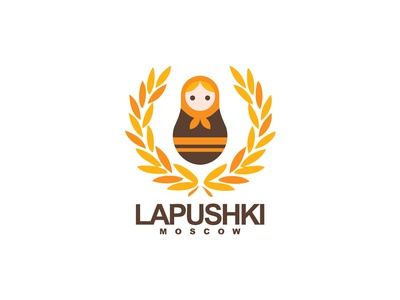 Logo - Lapushki  (Shoe Brand)