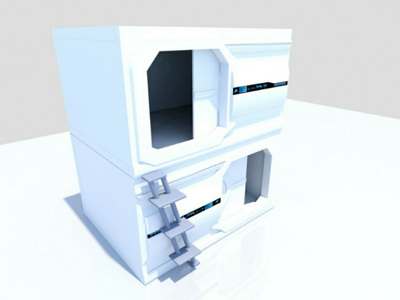 3d Modeling Rest Pods rest pods 3ds max
