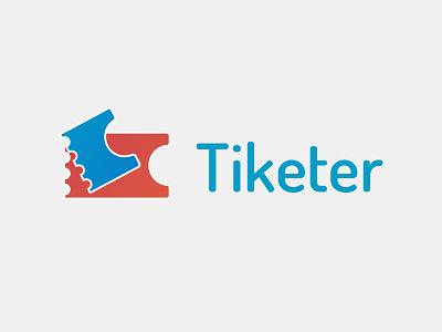 Tiketer - logo brand concert ticket type mark logo identity branding