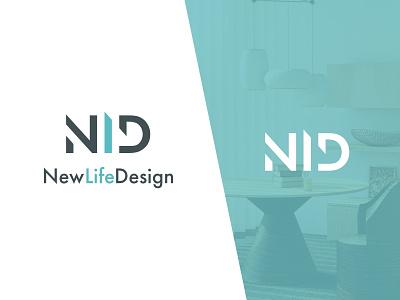 New Life Design typography identity design mark interior logotype branding brand logo