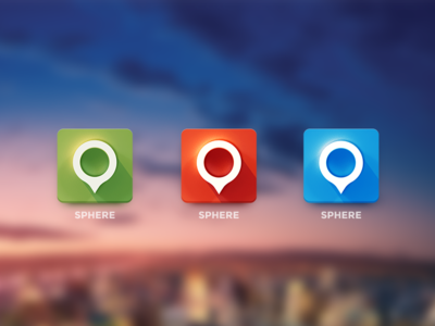 Sphere Icon for Android App