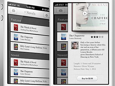 Audiobooks app