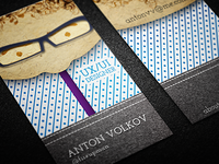 Personal Business Cards (dots)