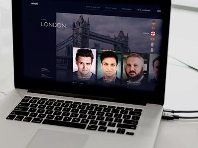 Website Team Carousel